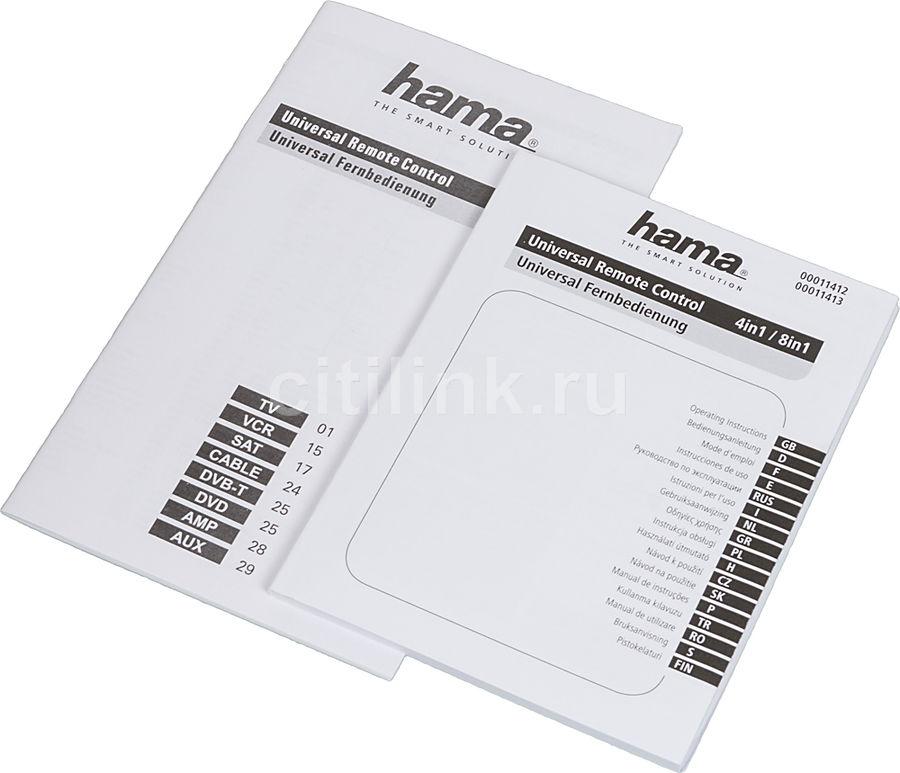 Hama универсальный пульт инструкция сборник мануалов и инструкций.