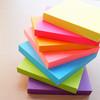 Блок самоклеящийся бумажный Stick`n 21167 76x76мм 100лист. 70г/м2 неон зеленый вид 3