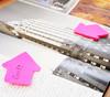 Блок самоклеящийся бумажный Stick`n 21181 70x70мм 50лист. 70г/м2 неон малиновый вырубной