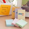 Блок самоклеящийся бумажный Stick`n 21390 51x76мм 100лист. 70г/м2 пастель оранжевый вид 4