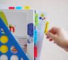 Закладки самокл. разделители пластиковые Stick`n 21607 25x38мм 4цв.в упак. 20лист с цветным краем ев вид 5