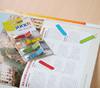 Закладки самокл. индексы пластиковые Stick`n 26003 12x45мм 5цв.в упак. 30лист Z-сложение стрелки печ вид 2