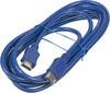 Кабель аудио-видео HAMA H-20163,  HDMI (m)  -  HDMI (m) ,  ver 1.3, 2.5м, синий [00020163] вид 1