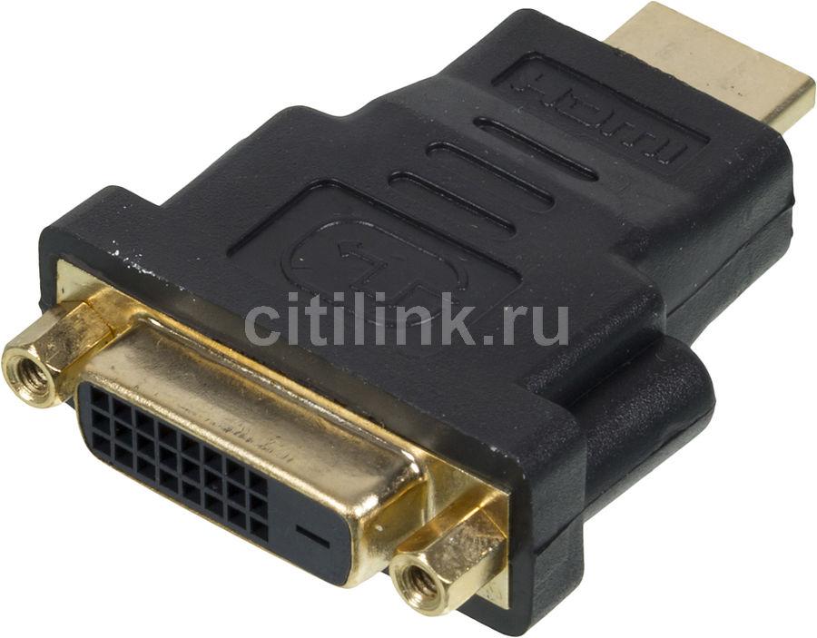 Переходник NINGBO HDMI (m) -  DVI-D (f),  черный [cab nin hdmi(m)/dvi-d(f)]