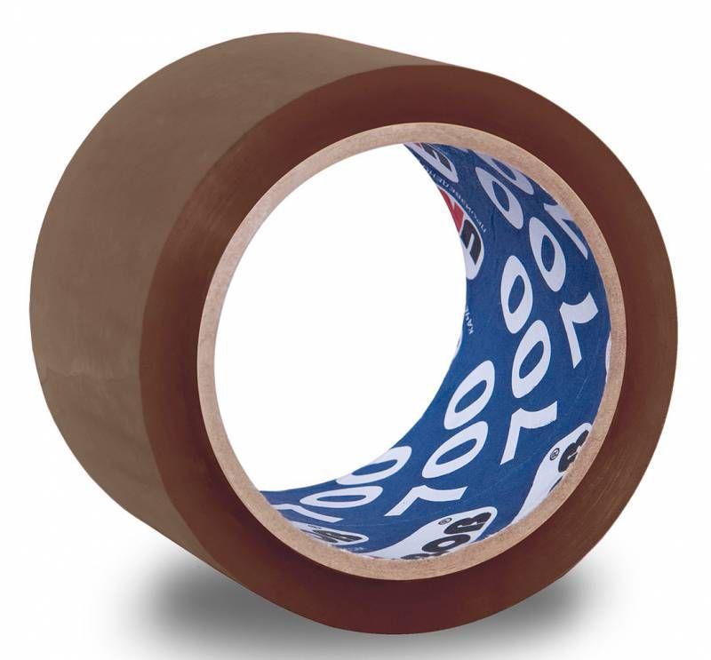 Клейкая лента упаковочная Unibob 700 41163 коричневая шир.50мм дл.66м 47мкр