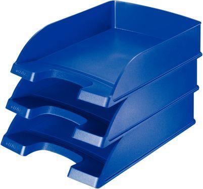 Лоток горизонтальный Esselte 52270035 A4 синий пластик