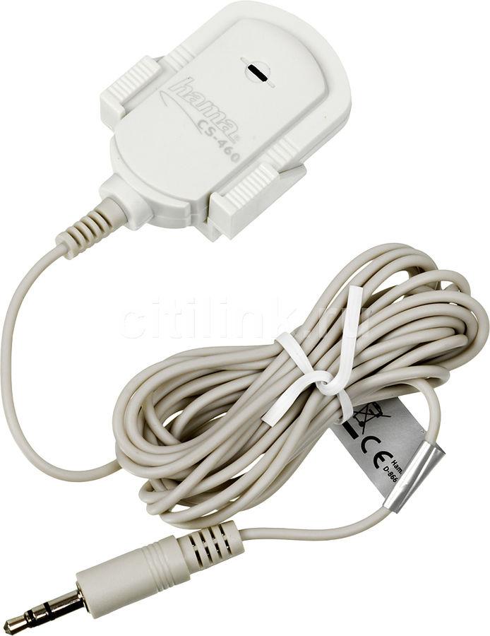 Микрофон HAMA H-42460,  серый [00042460]
