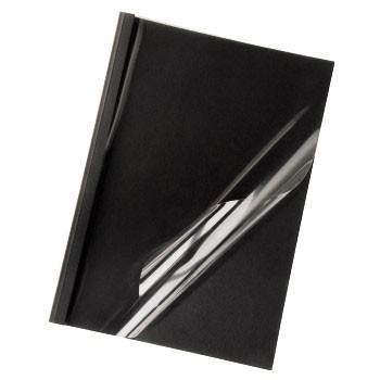 Термообложка HAMA H-52639,  A4,  12мм,  100,  черный