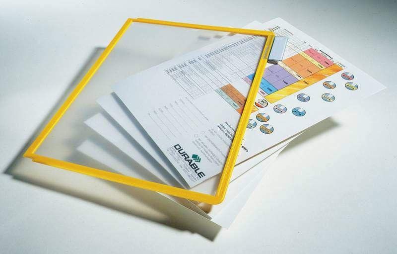 Демонстрационная панель для демонстрационных систем Durable Sherpa 560604 желтый