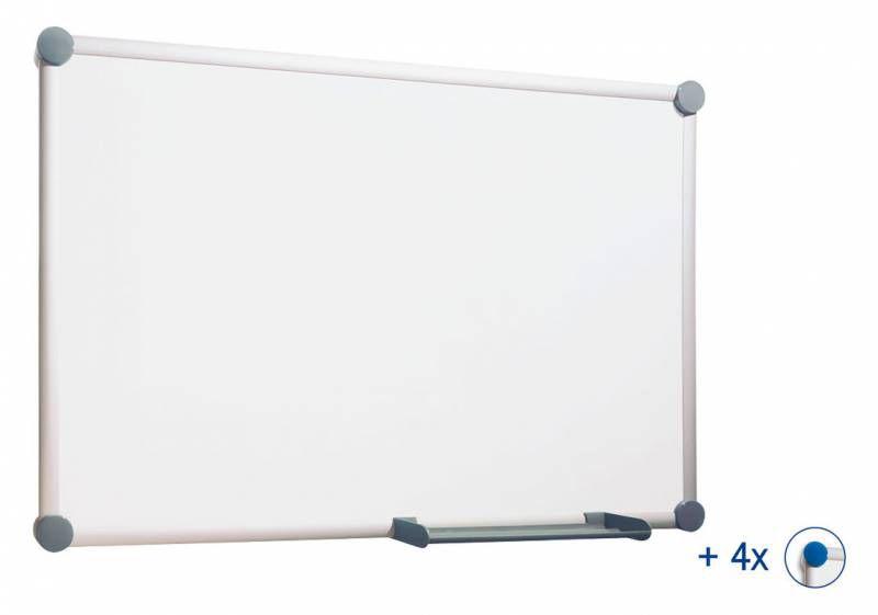 Демонстрационная доска Hebel Maul Whiteboard 2000 6305884 магнитно-маркерная лак 100x200см алюминиев