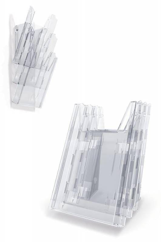 Комплект лотков Durable Combiboxx 1/3 859919 пластик A4 прозрачный