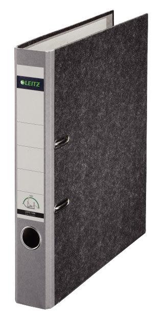 Папка-регистратор Esselte Leitz 10500285P A4 50мм картон серый