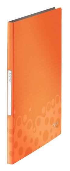 Папка Leitz Bebop с 20 прозрачн вкладышами оранжевый [45640045]