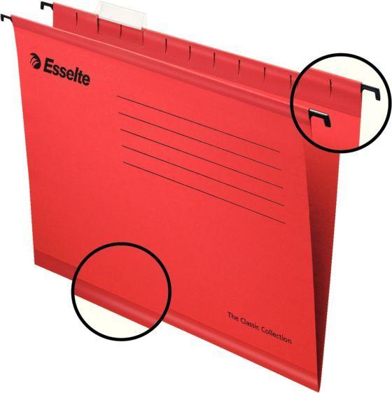 Папка подвесная Esselte Pendaflex ECO 90316 красный
