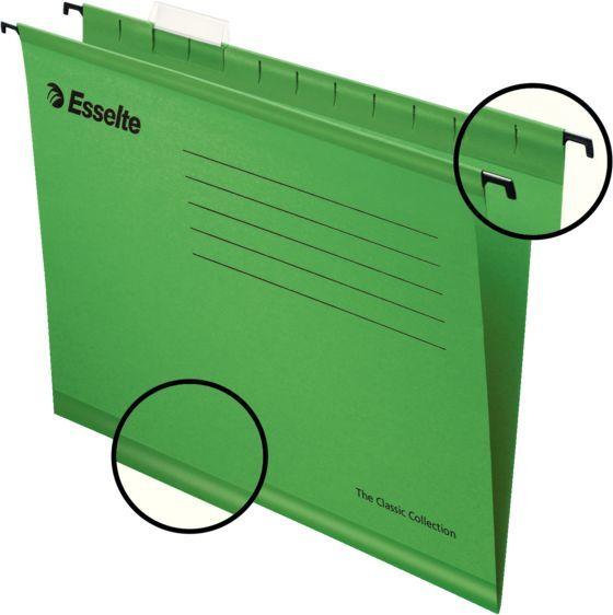 Папка подвесная Esselte Standart 90318 зеленый
