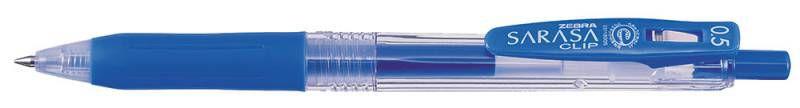 Ручка гелевая Zebra SARASA CLIP (JJ15-PB) авт. 0.5мм светло-голубой