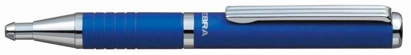 Ручка шариковая Zebra SLIDE (BP115-BL) авт. телескопич.корпус синий синие чернила коробка подарочная
