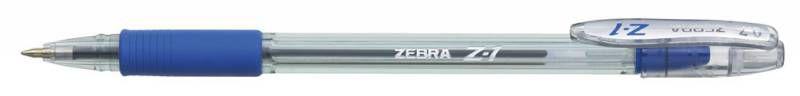 Ручка шариковая Zebra Z-1 (BP074-BL) 0.7мм синий