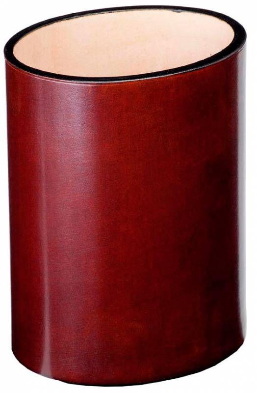 Подставка Visconti (986CU0004) для пишущих инструментов коричневый натур.кожа массив
