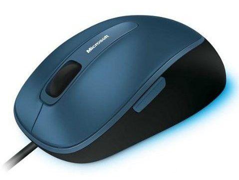 Мышь MICROSOFT Comfort 4500 оптическая проводная USB, черный [4fd-00002]