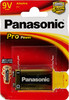 Батарея PANASONIC ProPower 6LR61PPG/1BP 6LR61,  1 шт. 9V вид 1