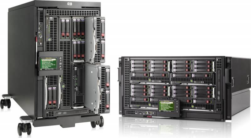 Шасси HPE BladeSystem BLc3000 DVD 4x1200W (696909-B21)