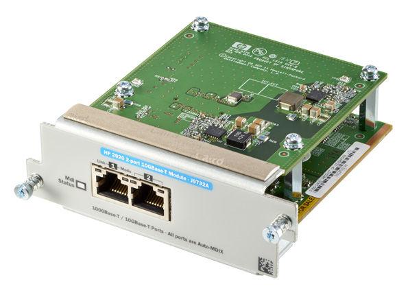 Модуль HP 2920 J9732A 2-Port 10GbT