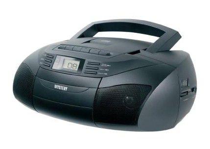 Аудиомагнитола MYSTERY BM-6301,  черный