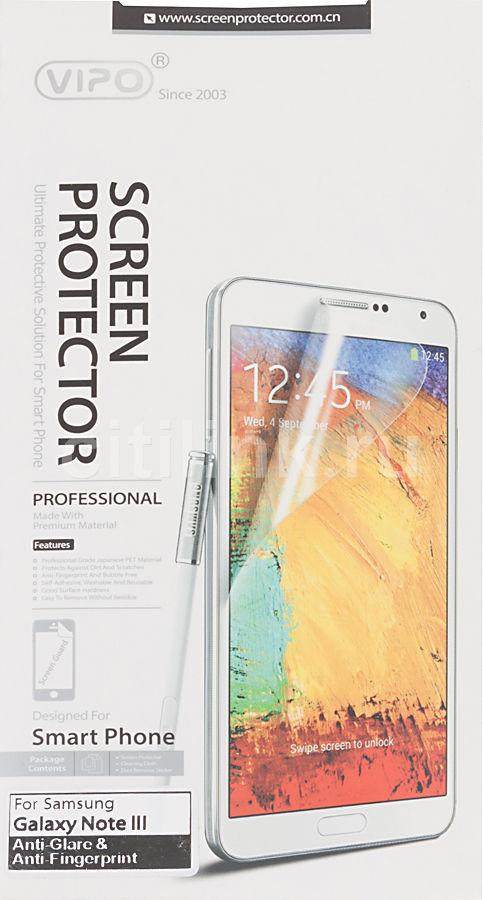 Защитная пленка VIPO для Samsung Galaxy Note 3,  антиблик, матовая, 1 шт