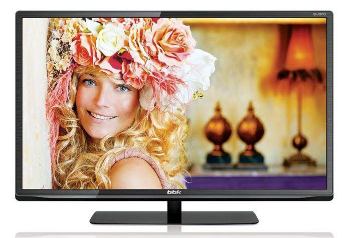 "LED телевизор BBK Evero LEM3284DT2  ""R"", 32"", HD READY (720p),  черный"