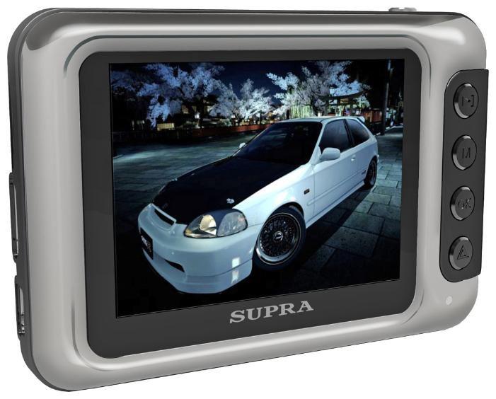 Видеорегистратор SUPRA SCR-730 серый