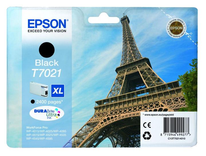 Картридж EPSON C13T70214010 черный
