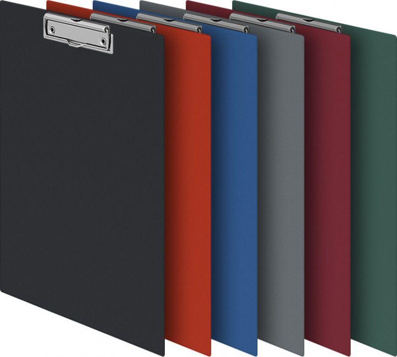 Папка-планшет Durable 4201-10 ПВХ серый прижим 35х23см