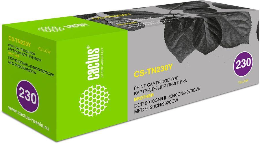 Картридж CACTUS CS-TN230Y желтый