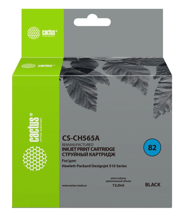 Картридж CACTUS CS-CH565A черный