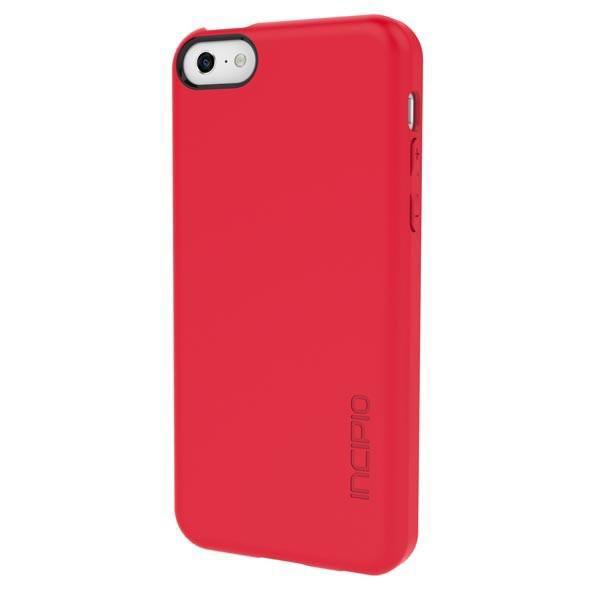 Чехол (клип-кейс) INCIPIO Feather,  IPH-1141-RED, для Apple iPhone 5c, красный