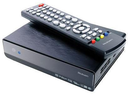 Медиаплеер ROLSEN FHD-M200,  черный