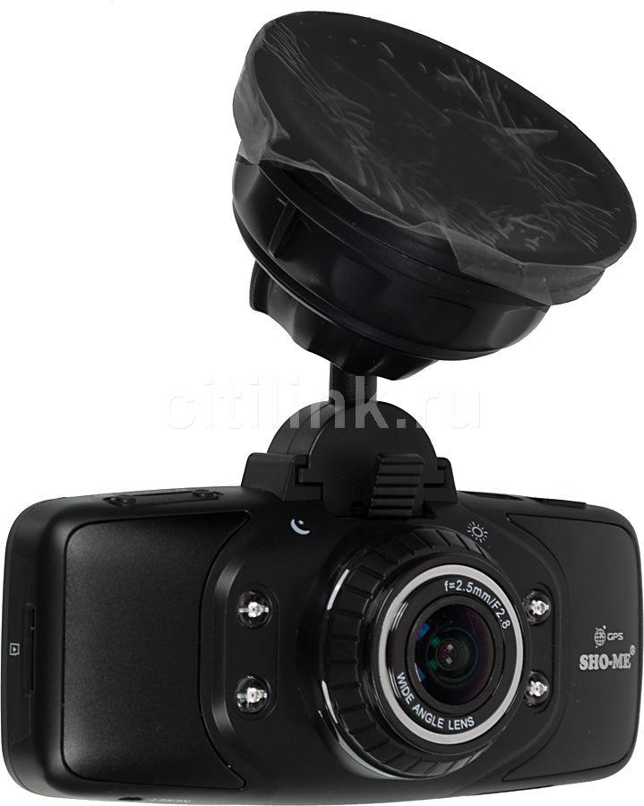 Видеорегистратор SHO-ME HD-7000G черный