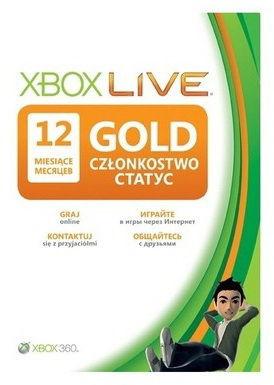 Карта подписки MICROSOFT Xbox 360