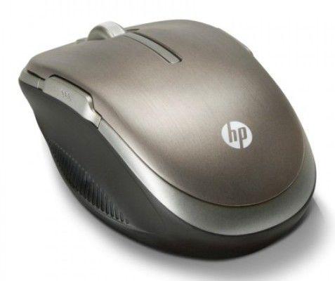Мышь HP LX729AA лазерная беспроводная USB, серебристый