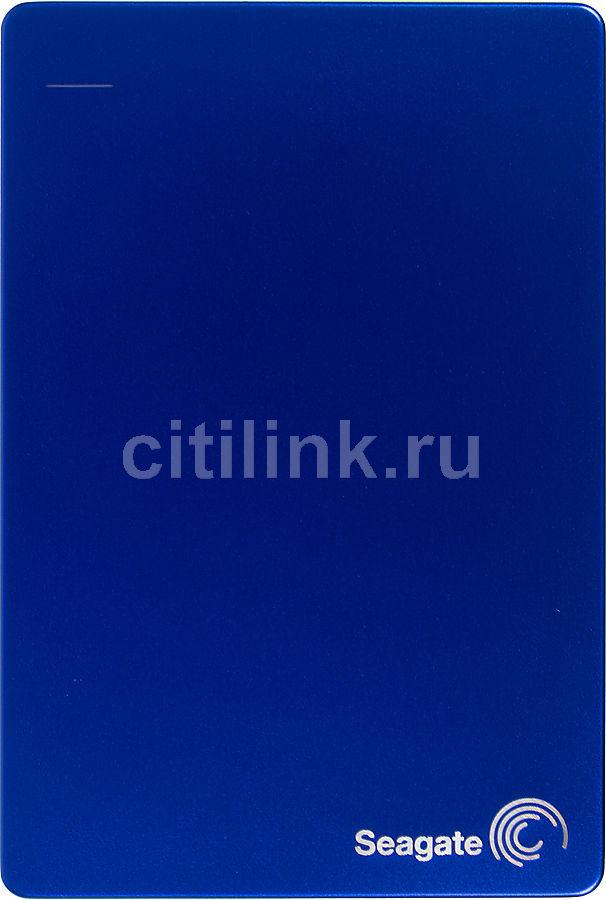 Внешний жесткий диск SEAGATE Backup Plus STDR1000202, 1Тб, синий