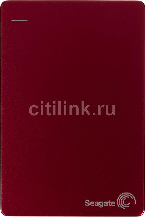 Внешний жесткий диск SEAGATE Backup Plus STDR1000203, 1Тб, красный