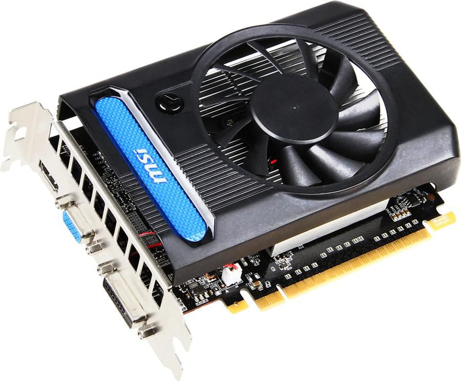 Видеокарта MSI GeForce GT 640,  N640-1GD3,  1Гб, GDDR3, Ret