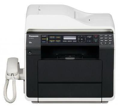 МФУ PANASONIC KX-MB2540RU,  A4,  лазерный,  белый