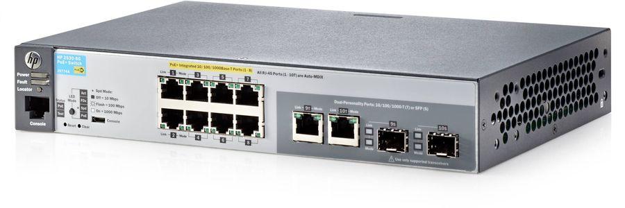 Коммутатор HPE 2530-8G-PoE+, J9774A
