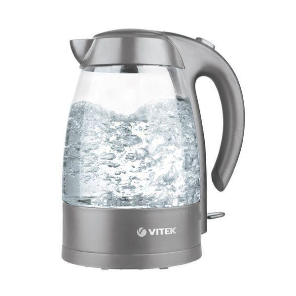 Чайник электрический VITEK VT-1112-02, 2200Вт, серый
