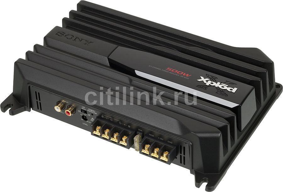 Усилитель автомобильный SONY Xplod XM-N502,  черный [xmn502.eur]