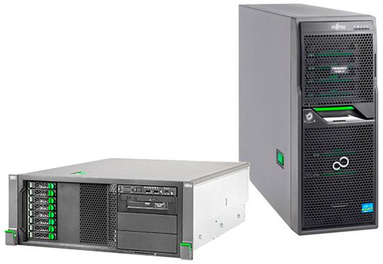 Сервер Fujitsu PRIMERGY TX200S7 1xE5-2420 1x8Gb 2R 7.2K 2.5