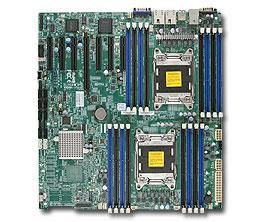 Серверная материнская плата SUPERMICRO MBD-X9DRH-IF-B,  bulk