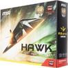 Видеокарта MSI Radeon R9 270X,  R9 270X HAWK 2G,  2Гб, GDDR5, OC,  Ret вид 7